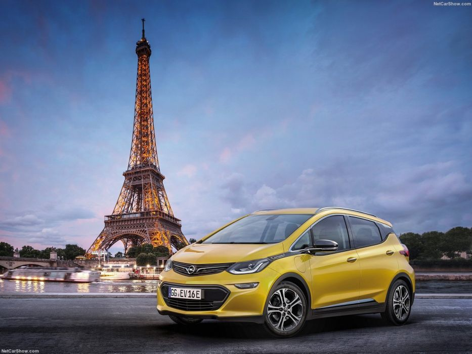 Opel Ampera-e cars electric 2016 wallpaper
