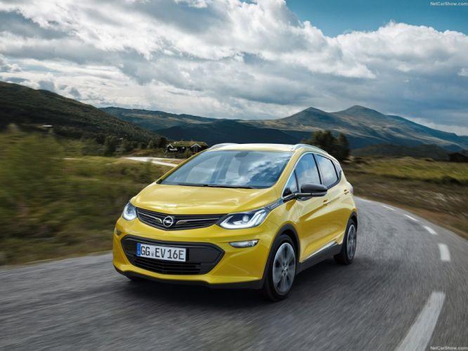Opel Ampera-e cars electric 2016 wallpaper