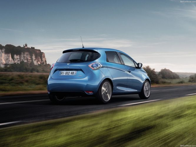 Renault Zoe cars electric 2016 wallpaper
