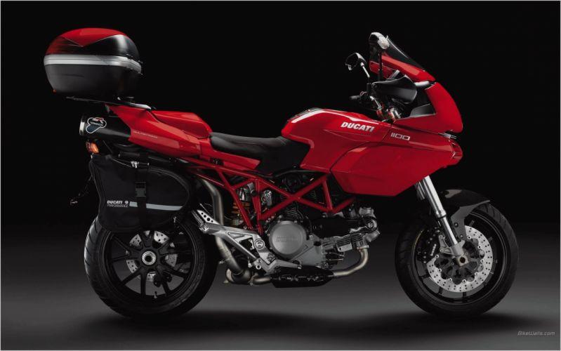 Ducati Multistrada 1100 S motorcycles 2007 wallpaper
