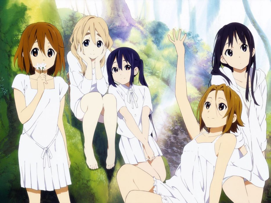 anime girls K-ON! school girl beautiful wallpaper