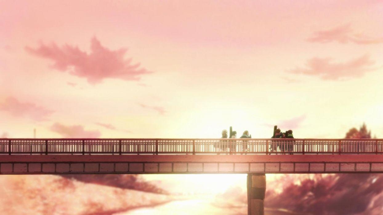 anime group K-ON! anime girls wallpaper