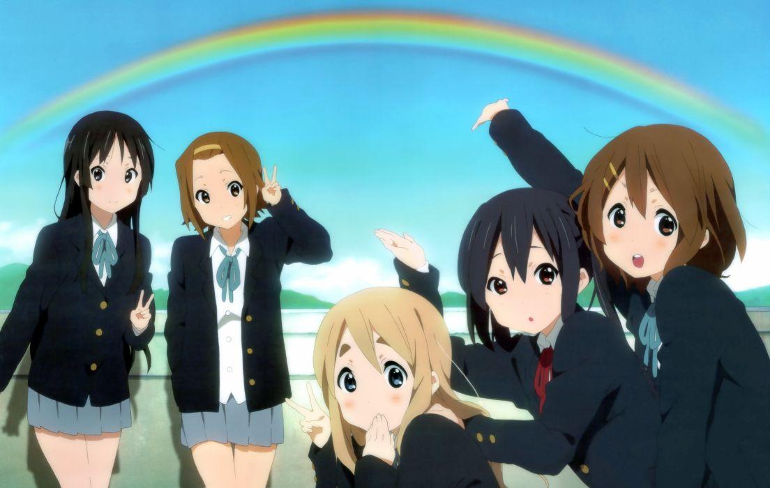 anime girls K-ON! school girl wallpaper