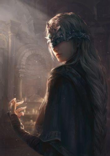 fantasy bandages dark souls woman wallpaper
