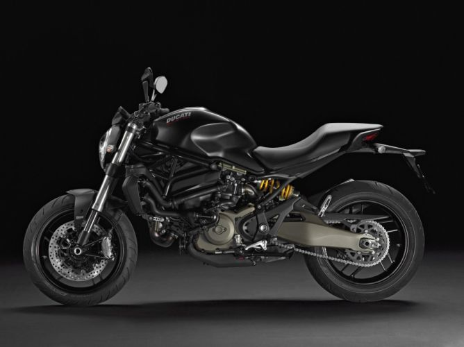 Ducati Monster 821 dark motorcycles 2015 wallpaper