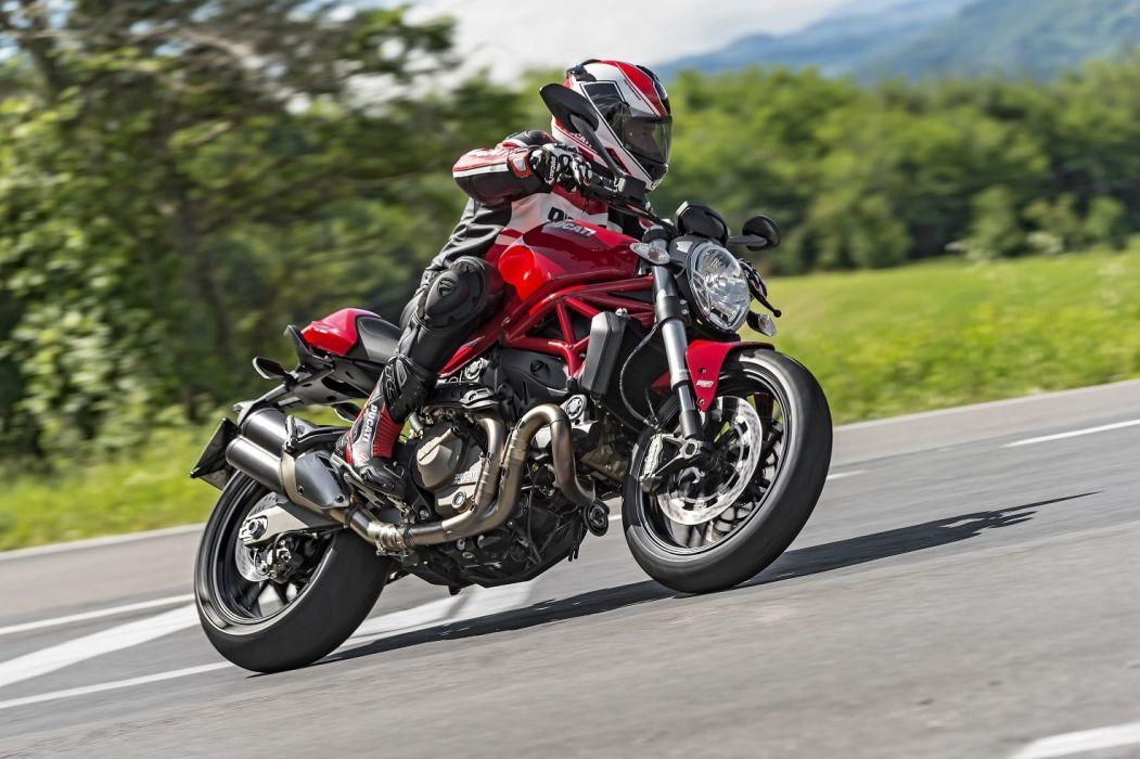 Ducati Monster 821 motorcycles 2014 wallpaper