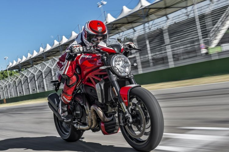 Ducati Monster 1200-R motorcycles 2016 wallpaper