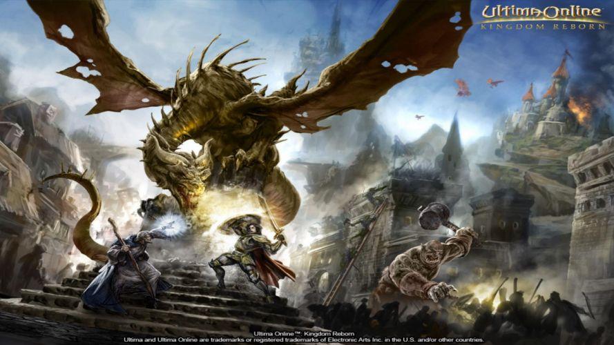 video juego ultima online wallpaper