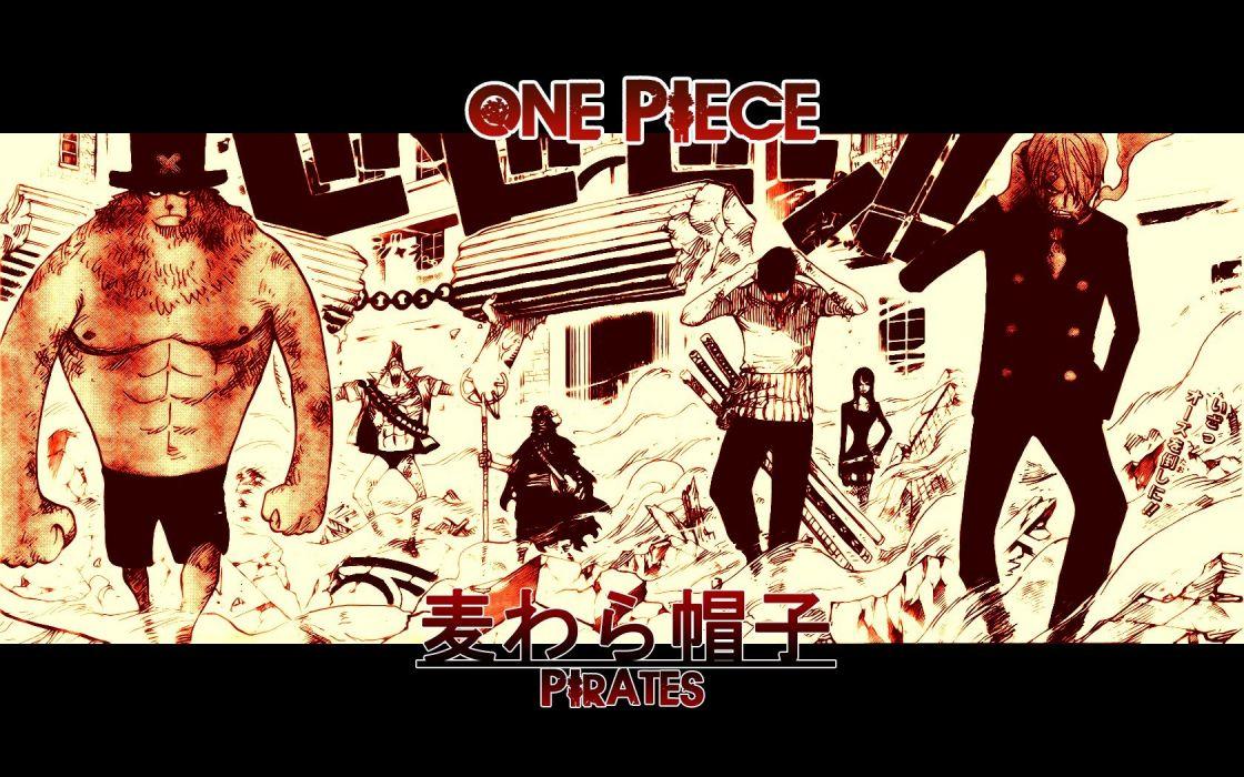 One Piece Tony Chopper Nico Robin Monkey D Luffy wallpaper
