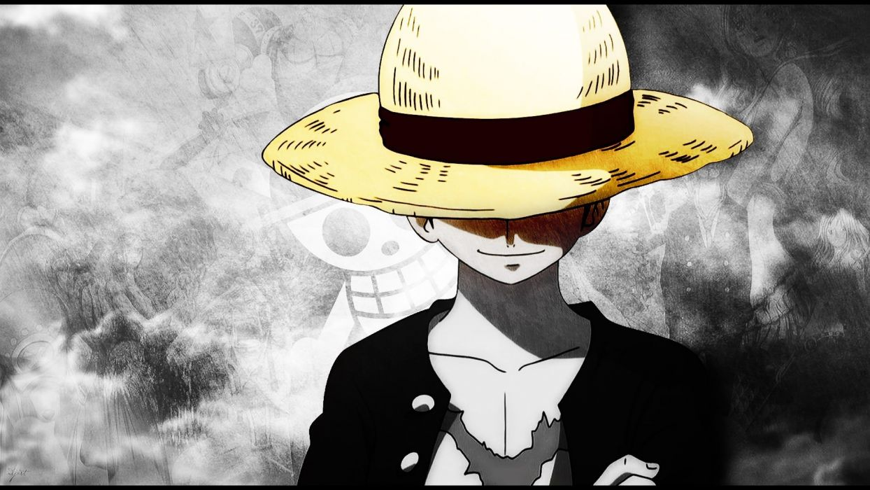 one piece straw hat monkey d luffy scars wallpaper | 1920x1080