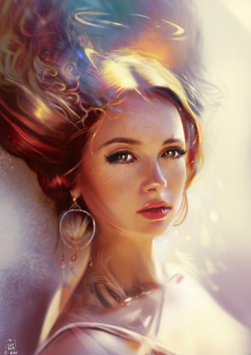 yasar-vurdem-photostudy fantasy art portraits original beautiful wallpaper