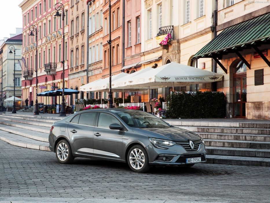 Renault Megane Sedan cars 2016 wallpaper