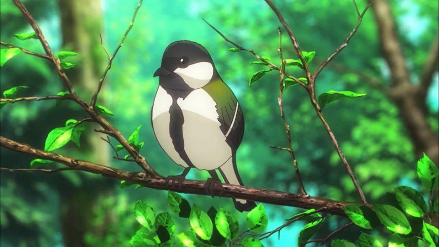 Non Non Biyori anime landscape nature birds wallpaper
