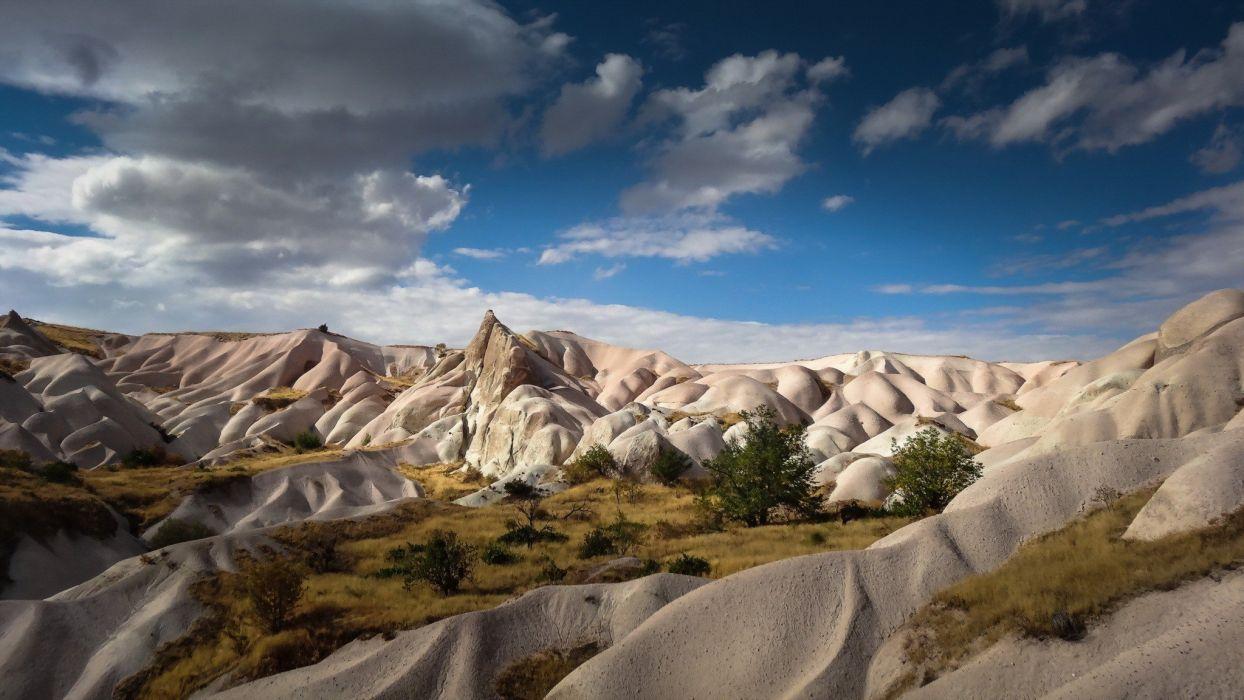 turkey Cappadocia landscape nature wallpaper