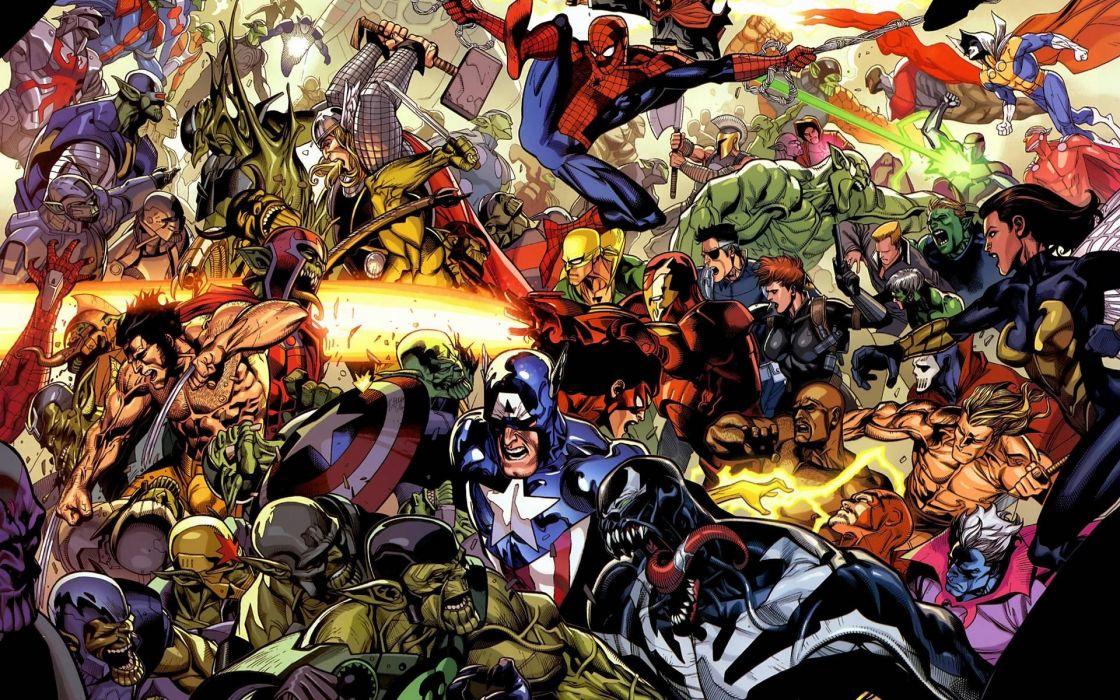 comic super heroes wallpaper
