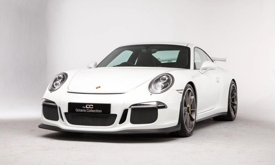 Porsche 911 GT3 UK-spec (991) cars white 2014 wallpaper