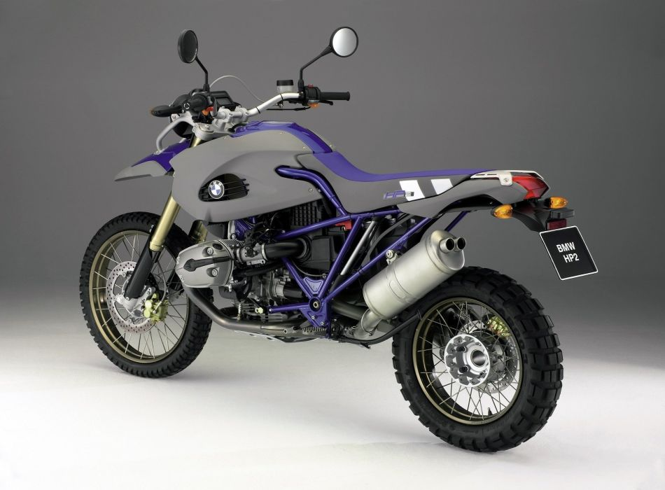 BMW HP2 Enduro motorcycles 2005 wallpaper