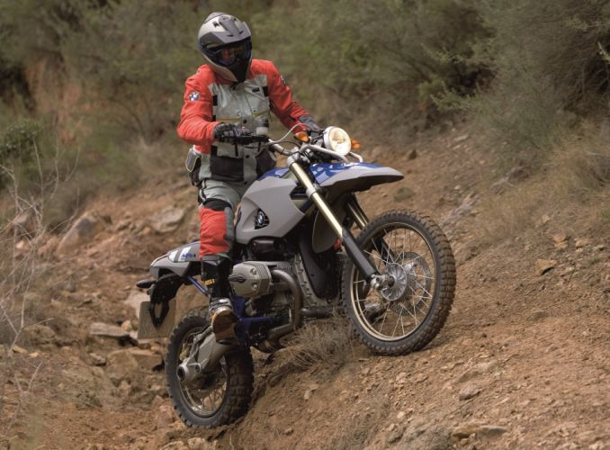 BMW HP2 Enduro motorcycles 2005 wallpaper