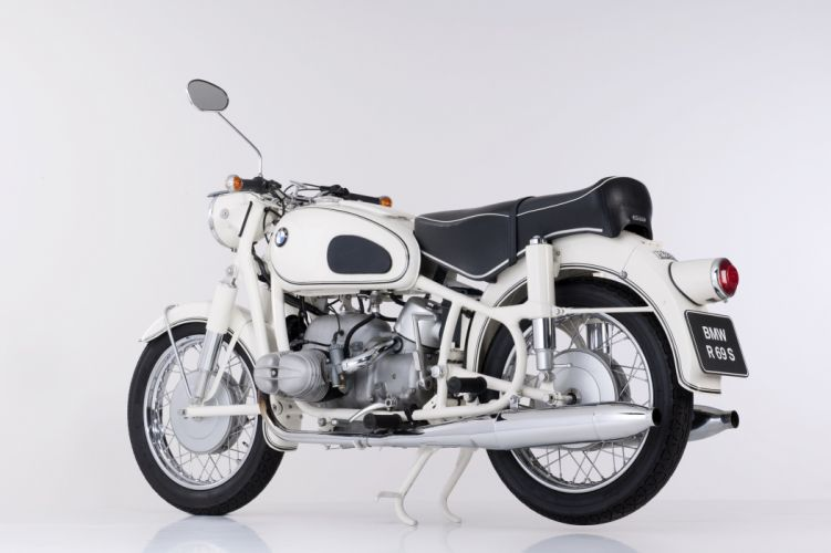 BMW R-69-S motorcycles 1960 wallpaper