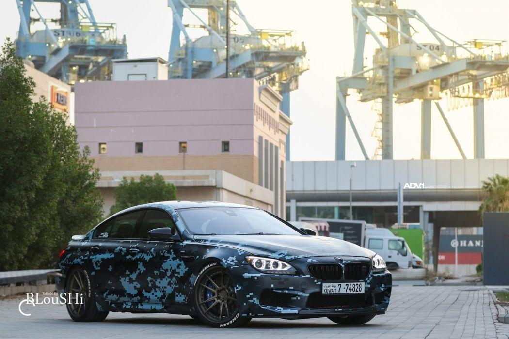 adv1 wheels cars BMW-M6 Gran Coupe wallpaper