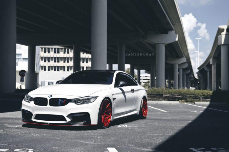 adv1 wheels cars BMW-M4 coupe white wallpaper