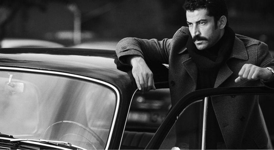 KenanImirzalıoglu actor car mustache classic car turkish men male wallpaper