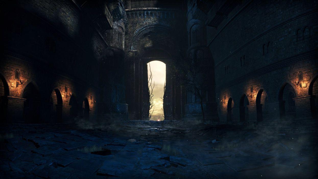Dark Souls III video games Lothric wallpaper