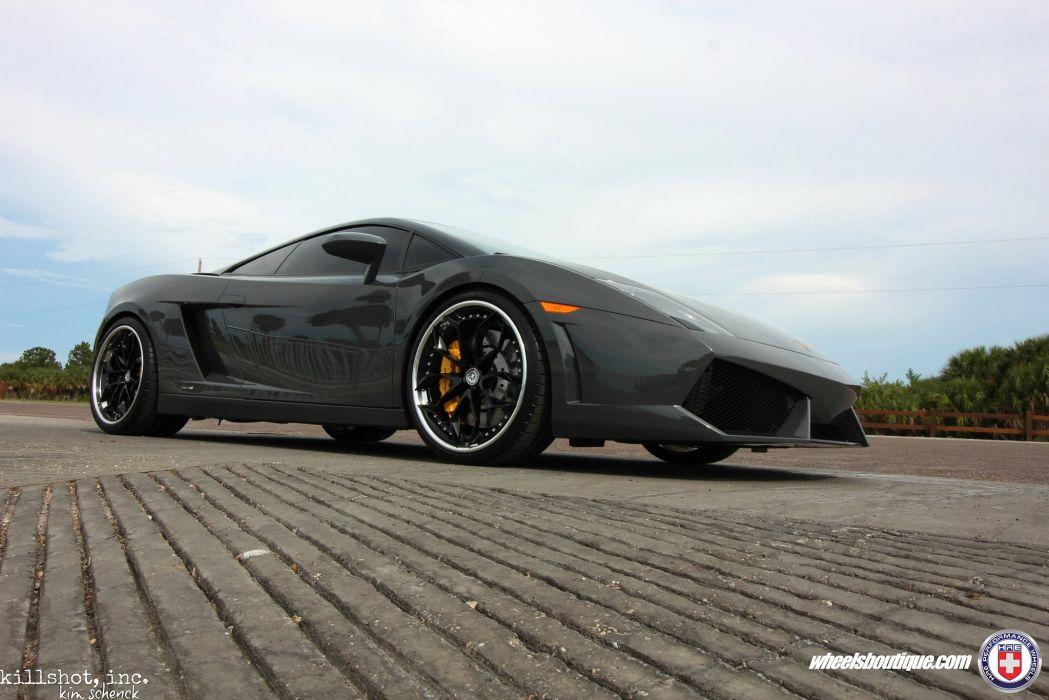 HRE wheels cars Lamborghini Gallardo wallpaper