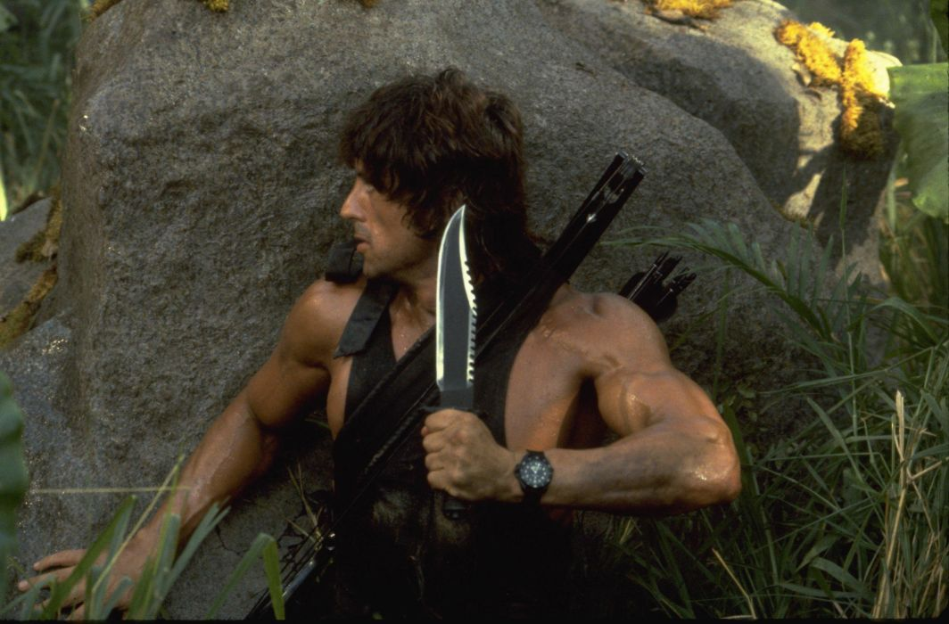 Sylvester Stallone Rambo Movies 077 (2) wallpaper
