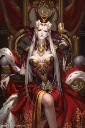 original characters fantasy woman dress long hair princess wallpaper