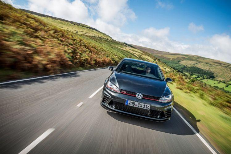 Volkswagen Golf GTI Clubsport-s UK-spec (Typ 5G) cars red 2016 wallpaper