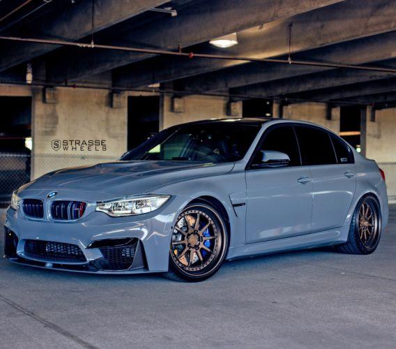 Strasse Wheels BMW-M3 f80 sedan cars wallpaper