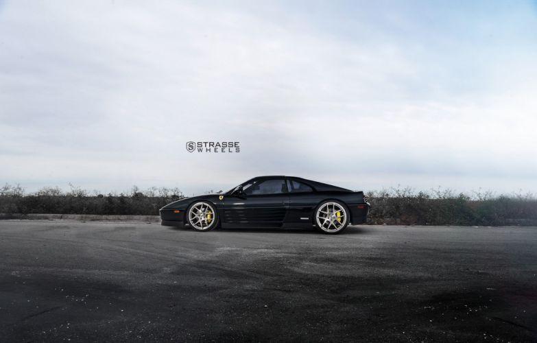 Strasse Wheels Ferrari 348-TS cars coupe wallpaper