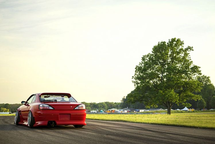 2001 nissan silvia coupe cars red modified wallpaper
