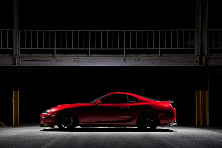 1994 Toyota Supra cars coupe red modified wallpaper