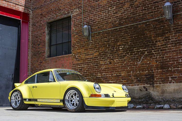 1987 Porsche 911 Carrera RWB modified cars wallpaper
