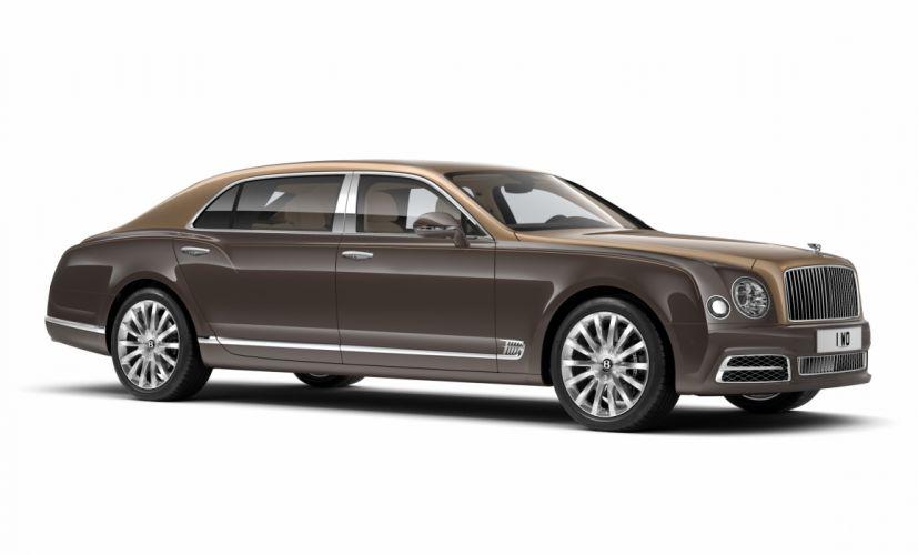 Bentley Mulsanne Extended Wheelbase First Edition 2016 wallpaper