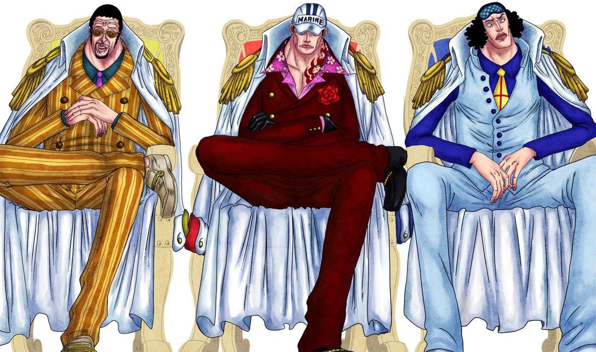 One Piece anime series guys wallpaper
