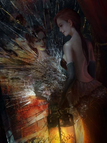 original characters fantasy fantasy art smile dress wallpaper