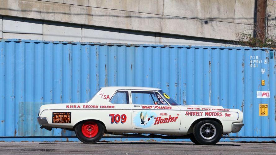 1964 DODGE 330 LIGHTWEIGHT HEMI-HONKER cars race wallpaper