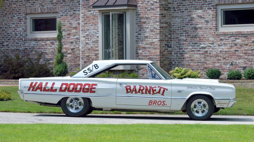 1967 DODGE HEMI CORONET SUPER STOCK cars racecars wallpaper