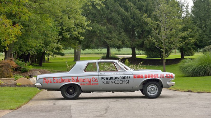 1963 DODGE 330 LIGHTWEIGHT cars racecars wallpaper