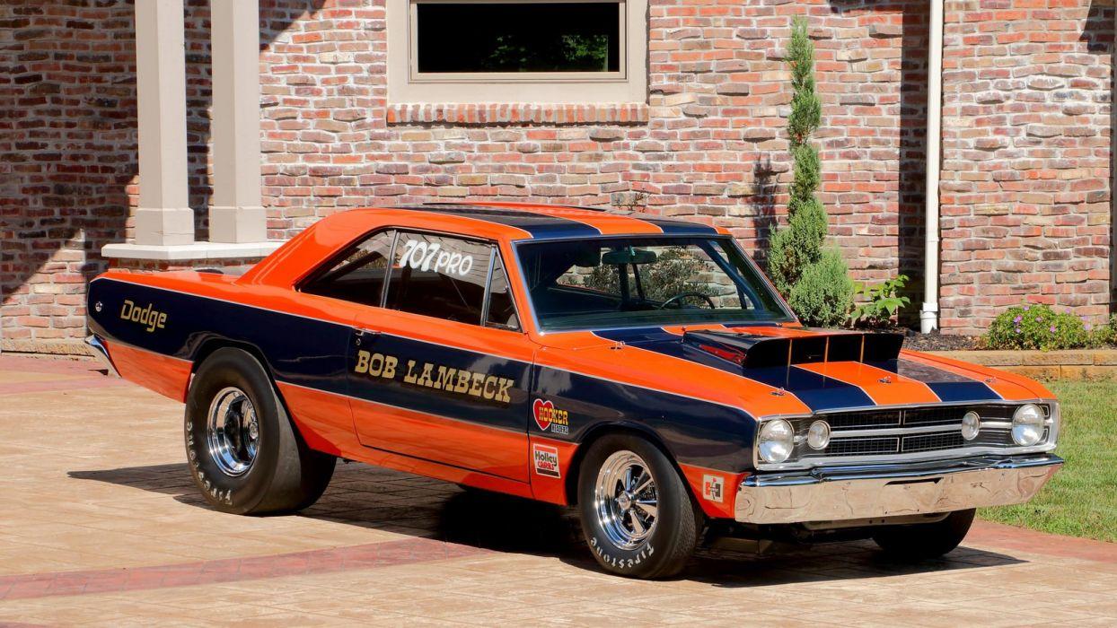 1968 DODGE HEMI DART SUPER STOCK cars racecars wallpaper