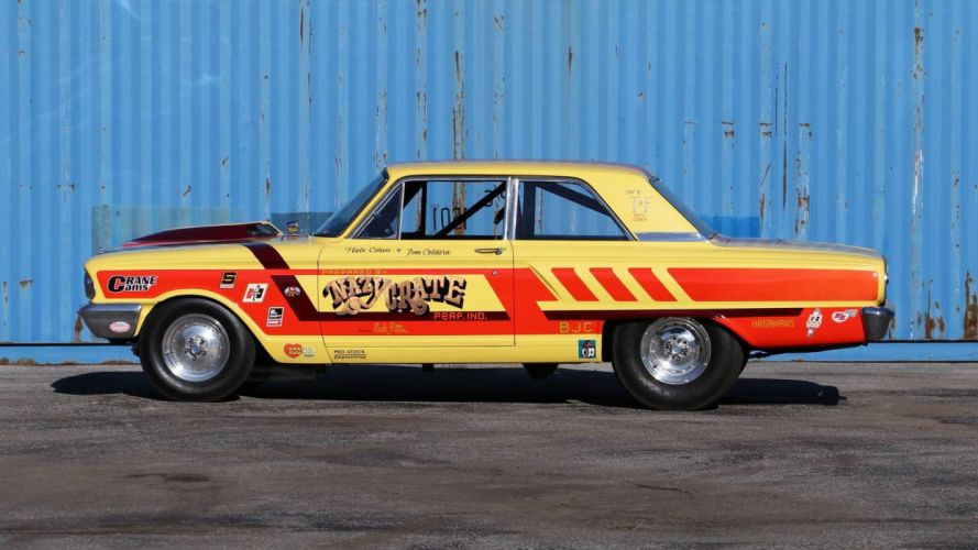 1964 FORD THUNDERBOLT cars racecars wallpaper