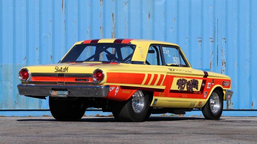 1964 FORD THUNDERBOLT cars racecars wallpaper