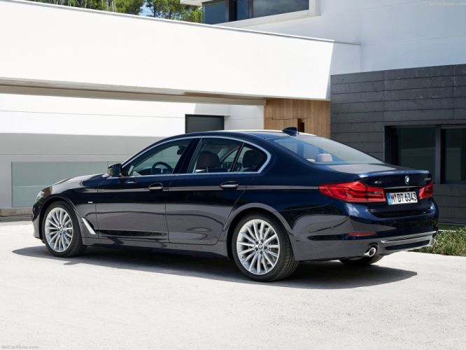 BMW 5-Series sedan cars 2016 wallpaper