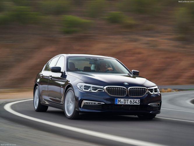 BMW 5-Series sedan cars 2016 wallpaper