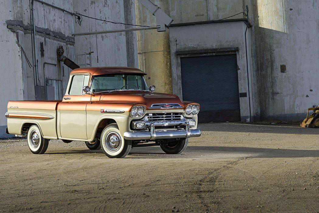 1959 Chevrolet Apache Pickup truck wallpaper