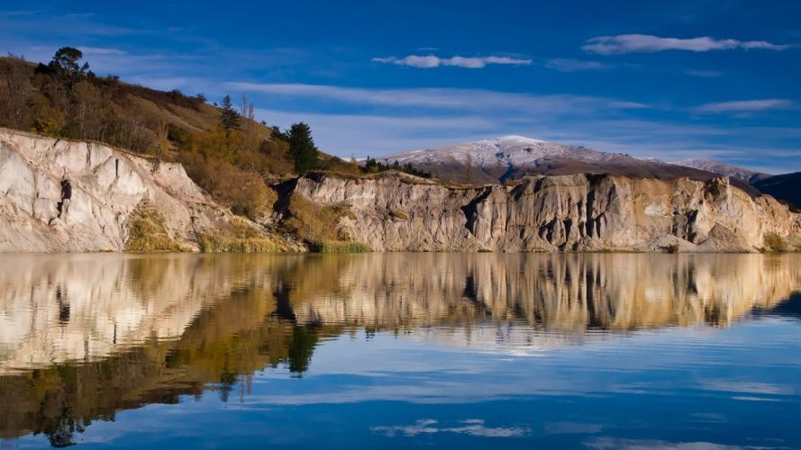 nature landscape beauty lake tree mountain wallpaper