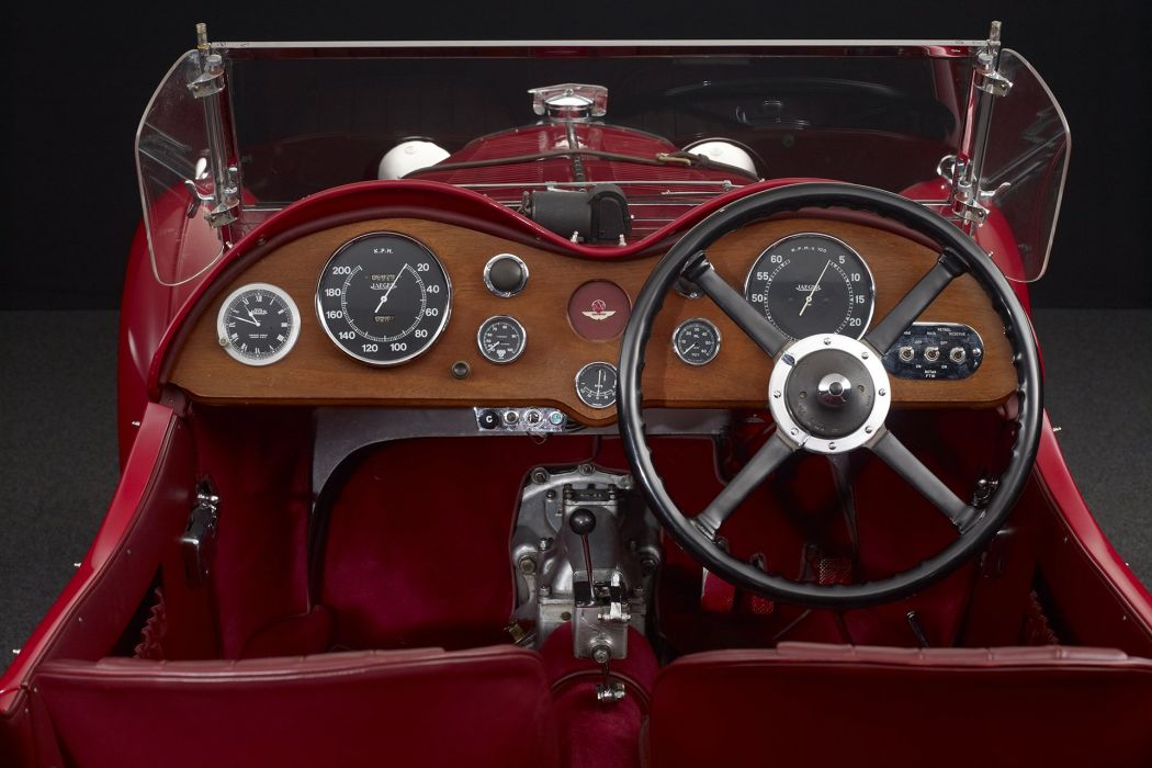 Aston Martin Le Mans cars classic red 1932 wallpaper